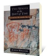 Two Wolves at the Dawn of Time by Judith Williams